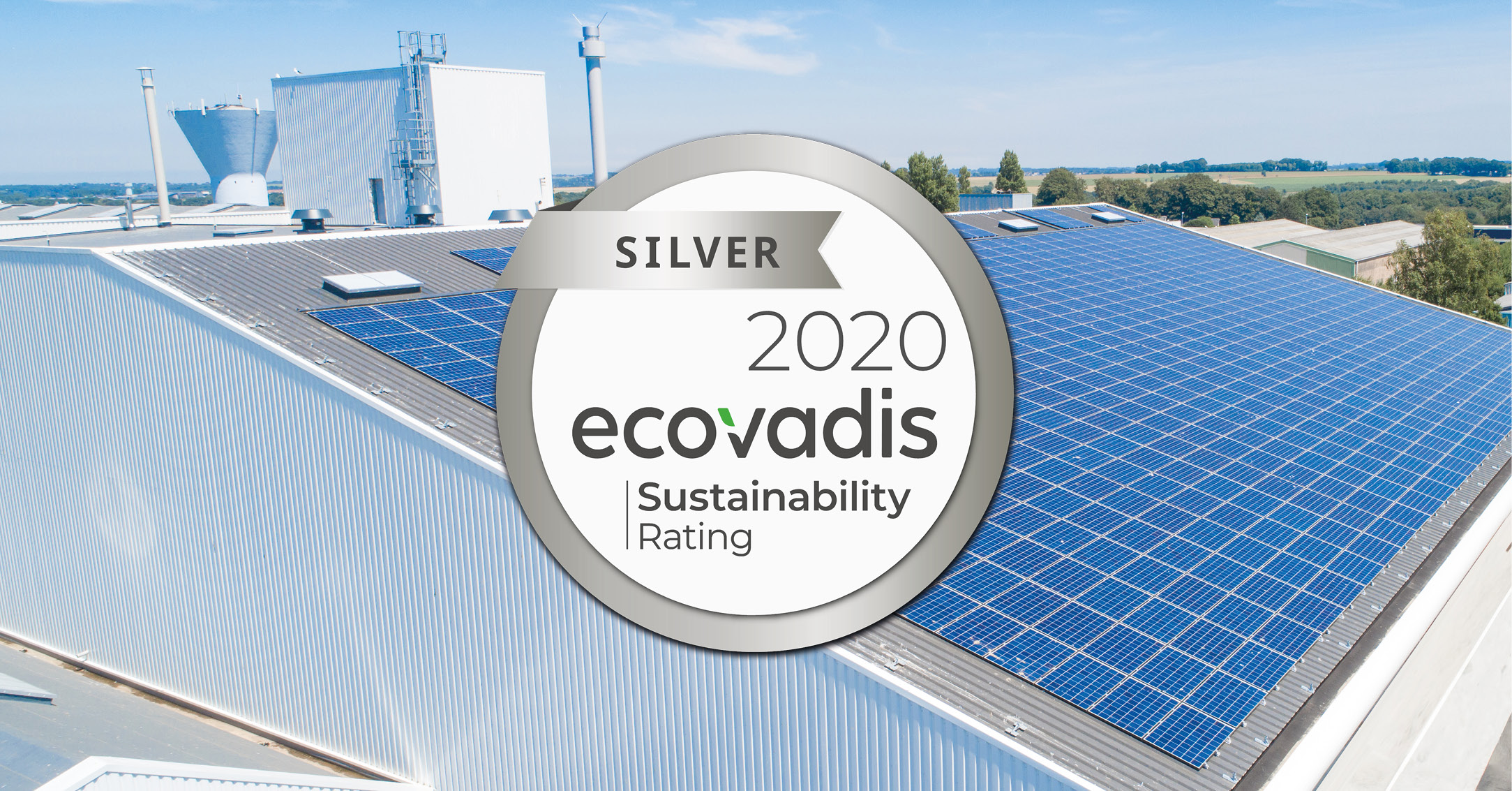 OLVEA Green Technologies has obtained the Silver status by Ecovadis! 1