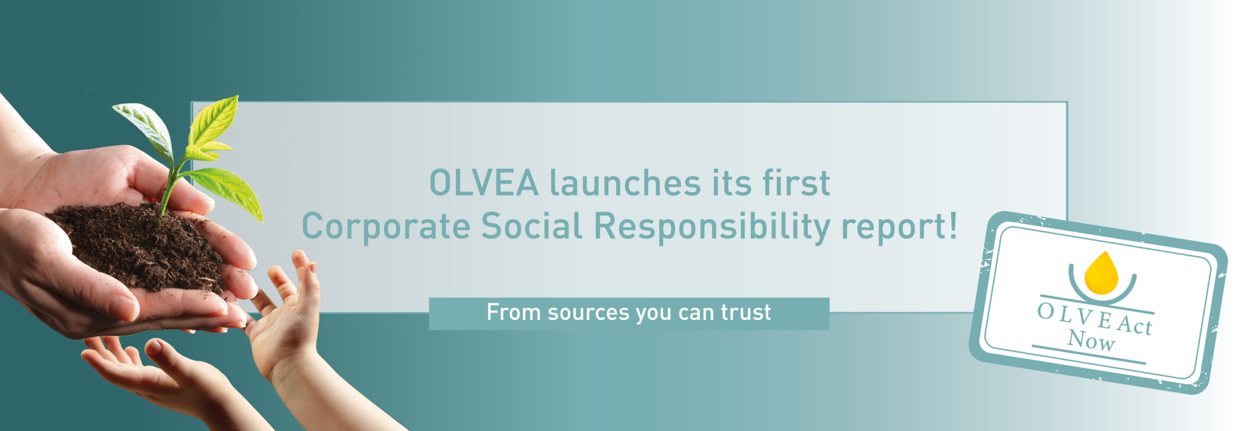 OLVEAct Now - Corporate social responsibility - Performance report - 2019-2020