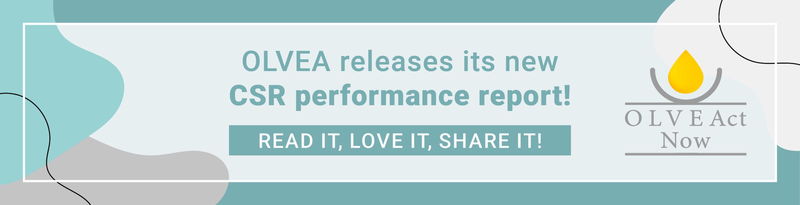 OLVEAct Now - CSR Performance report - Corporate Social Responsibility - OLVEA - 2020 - 2021